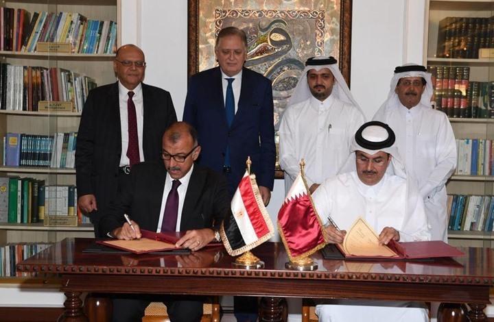 مصر توقع مذكرات تفاهم مع قطر لتعزيز التعاون المشترك (صور)