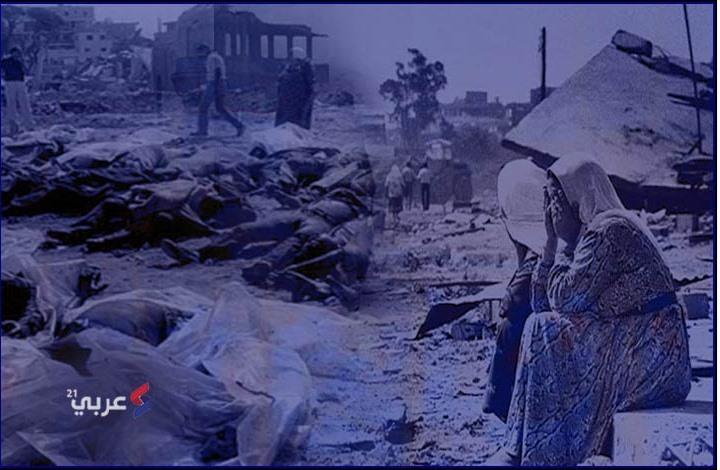 """39 عاما على مجزرة """"صبرا وشاتيلا"""" الراسخة بالذاكرة (إنفوغراف)"""