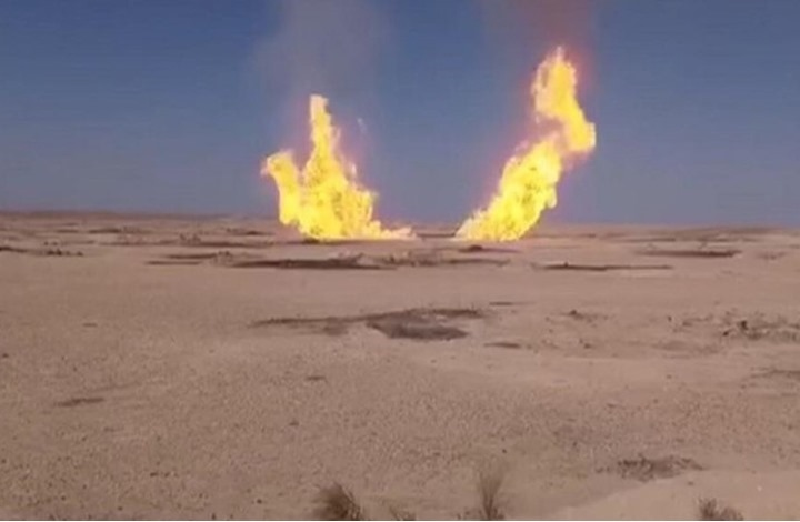تنظيم الدولة يتبنى تفجير خط للغاز جنوب دمشق