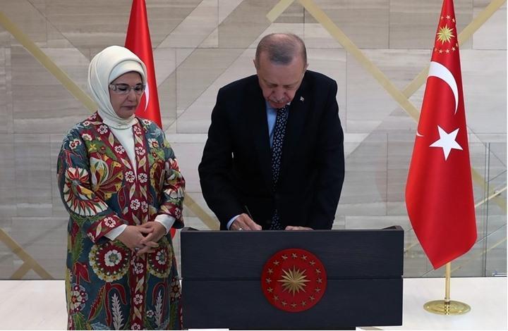 """أردوغان يفتتح """"البيت التركي"""" بنيويورك.. تعرف على مواصفاته"""