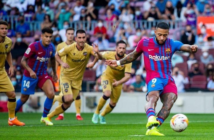 برشلونة يستعيد توازنه بثلاثية نظيفة في الليغا (شاهد)
