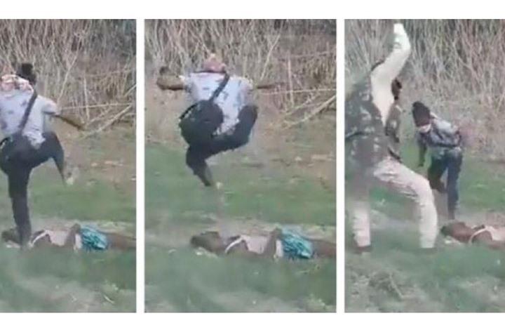 غضب بعد مقتل مسلم بالهند على يد الشرطة والدوس على جثته