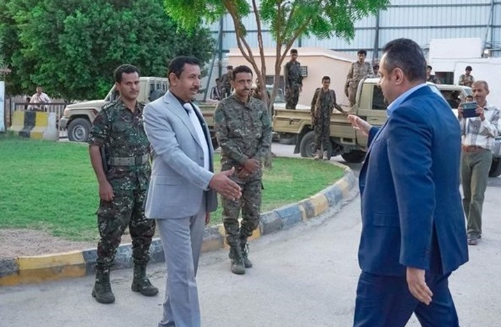 رئيس حكومة اليمن يصل إلى محافظة شبوة