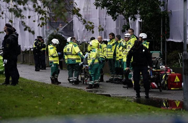 25 إصابة بانفجار ضخم في السويد (شاهد)