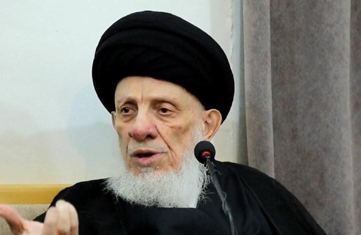 كسر ختم المرجع العراقي الراحل محمد سعيد الحكيم (فيديو)