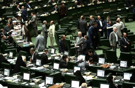 برلمان إيران يقر رفع تخصيب اليورانيوم وقانون إلغاء العقوبات