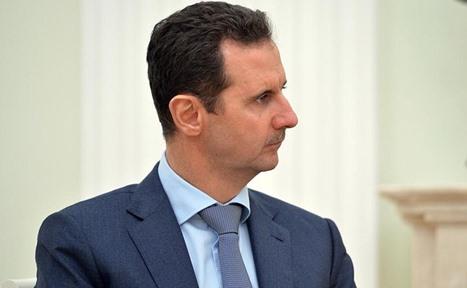 """نشطاء: الأسد شاهد هذا المقطع من """"الاتجاه المعاكس"""" (فيديو)"""