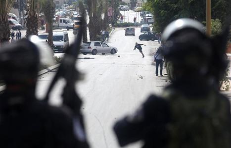 مواجهات متفرقة مع جيش الاحتلال في الضفة - 02- مواجهات متفرقة مع جيش الاحتلال في الضفة -  الاناضول