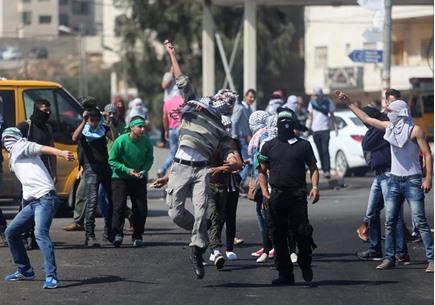 مواجهات متفرقة مع جيش الاحتلال في الضفة - 04- مواجهات متفرقة مع جيش الاحتلال في الضفة -  الاناضول