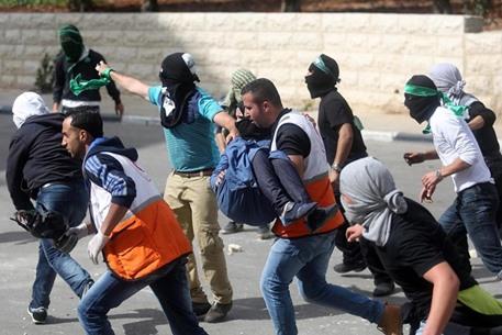 مواجهات متفرقة مع جيش الاحتلال في الضفة - 11- مواجهات متفرقة مع جيش الاحتلال في الضفة -  الاناضول