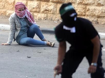 مواجهات متفرقة مع جيش الاحتلال في الضفة - 13- مواجهات متفرقة مع جيش الاحتلال في الضفة -  الاناضول