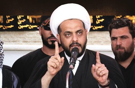 """الخزعلي يتهم """"الفرس"""" بقتل الحسين.. كيف برر لهم؟ (شاهد)"""