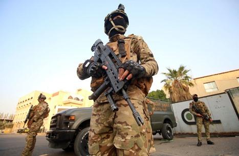 """مقتل جندي بإطلاق نار في بغداد وتوقيف عنصر من """"داعش"""""""