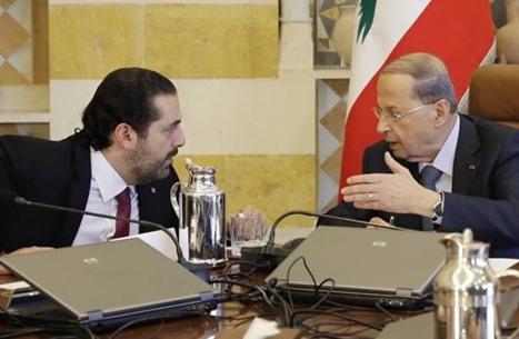 فرنسا تحذر من غرق لبنان.. وعون يخاطب الحريري