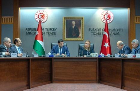 الأردن يبحث تجاوز التحديات في العلاقات التجارية مع تركيا