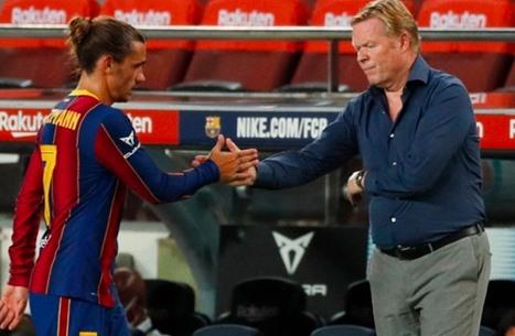 برشلونة يريد التخلي عن غريزمان لضم خليفة ميسي
