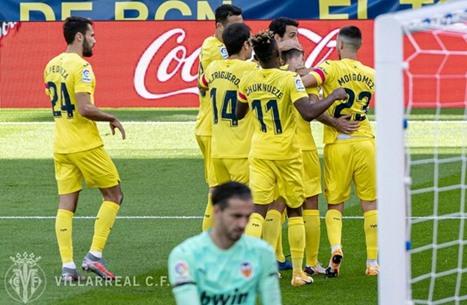 فياريال يتصدر ترتيب الدوري الإسباني مؤقتا