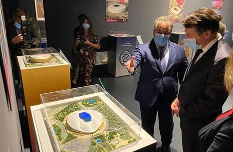 الدوحة تفتتح معرضا في باريس حول كأس العالم 2022