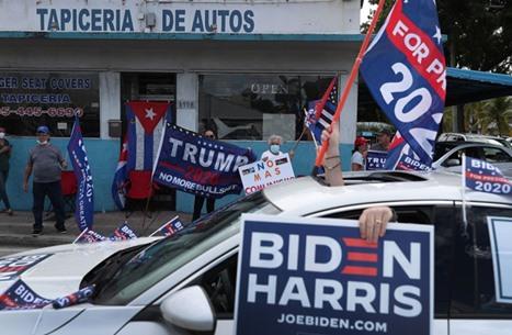 التصويت المبكر يشعل المنافسة الانتخابية بين ترامب وبايدن