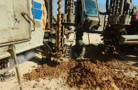 جيش الاحتلال يزعم اكتشاف نفق يمتد من غزة باتجاه المستوطنات