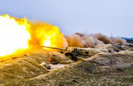 أذربيجان تسقط مسيّرة أرمينية وتستمر في التقدم على الأرض