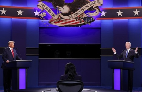 تفاصيل المناظرة الرئاسية الأخيرة بين ترامب وبايدن (شاهد)