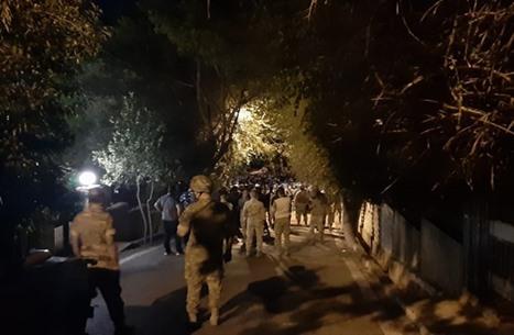 متظاهرون أرمن حاولوا اقتحام السفارة التركية في بيروت