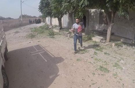 قتيلان في ريف إدلب بقصف مدفعي لقوات النظام (شاهد)
