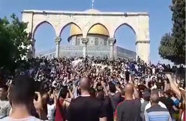 خطيب الأقصى: فرنسا تاريخها أسود.. ومظاهرة لنصرة النبي
