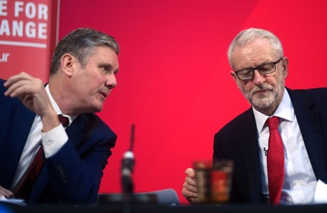 MEE: كير ستارمر يمزق حزب العمال بتعليق عضوية كوربين
