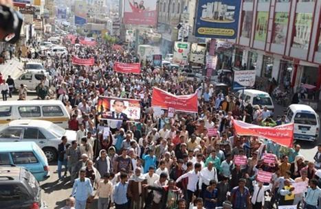 مسيرة حاشدة باليمن ضد الإساءة للنبي وتنتقد ماكرون (شاهد)