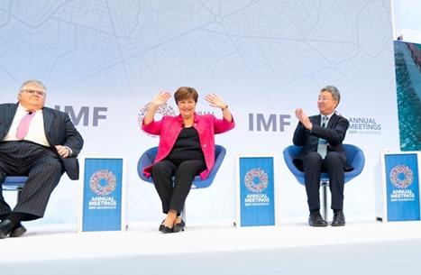 مجلس إدارة صندوق النقد يجدّد ثقته بمديرته العامة