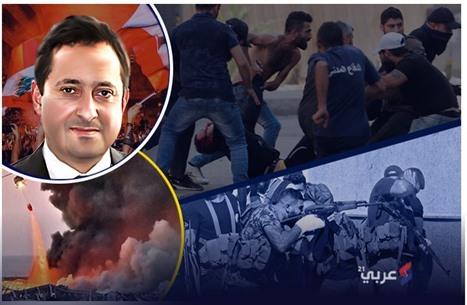 منذ انفجار بيروت وحتى الاشتباكات الأخيرة.. أبرز المحطات (إنفوغراف)