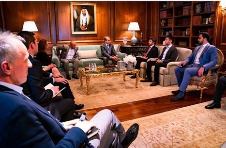 عبدالله بن زايد يلتقي سوليفان وشخصيات يهودية في واشنطن