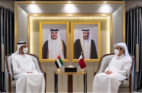 """مباحثات قطرية إماراتية في الدوحة لـ""""تطوير العلاقات الثنائية"""""""