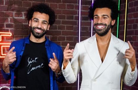 """صلاح أول لاعب عربي يصنع له تمثال بمتحف """"مدام توسو"""""""