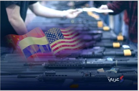 الدول الخمس الكبرى المهيمنة على صادرات السلاح (إنفوغراف)