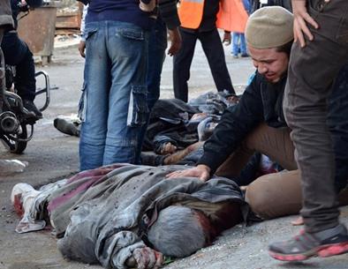 مجزرة الطائرات الروسية تودي بحياة 40 سوريا - 01- مجزرة الطائرات الروسية تودي بحياة 40 سوريا - الاناض