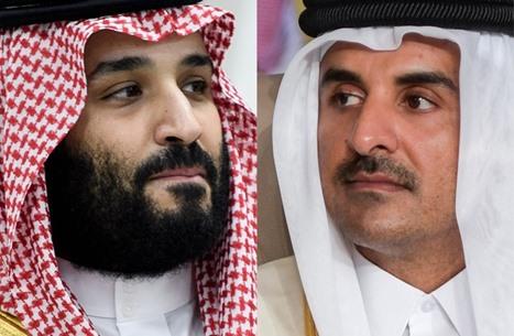 أمير قطر يهاتف ابن سلمان.. والدوحة تدين هجمات الحوثي