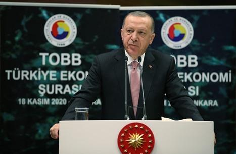 أردوغان يدعو المستثمرين للاستثمار بكافة القطاعات ببلاده