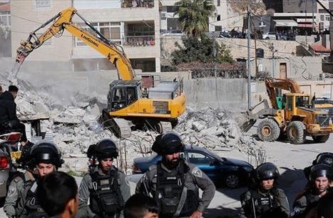 جيش الاحتلال الإسرائيلي يهدم 15 مسكنا ومنشأة بالضفة