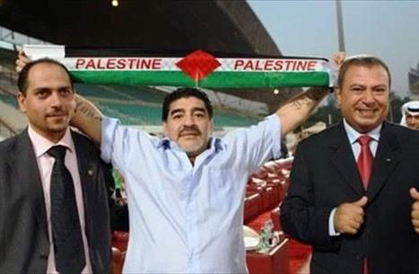 سياسيون حول العالم يستذكرون مواقف مارادونا من فلسطين
