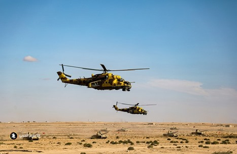 مناورات عسكرية لحفتر تكشف عمق تدخل روسيا بالأزمة الليبية