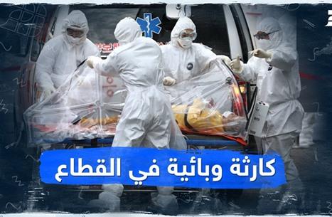 كارثة وبائية في القطاع