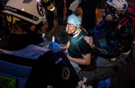 تنديد حقوقي باعتداء الشرطة الفرنسية على مصور سوري