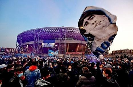"""الدوري الإيطالي يكرم الأسطورة مارادونا في """"الدقيقة 10"""""""
