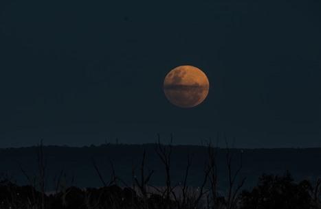 """خسوف """"شبه الظل"""" للقمر في مناطق عدة بالعالم (صور)"""