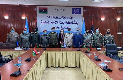 لجنة (5+5) تدعو مجددا لسحب المرتزقة من ليبيا