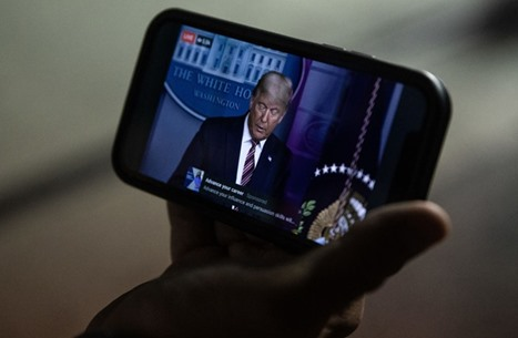 """دونالد ترامب يطلق منصته التواصلية الخاصة """"مكتب ترامب"""""""
