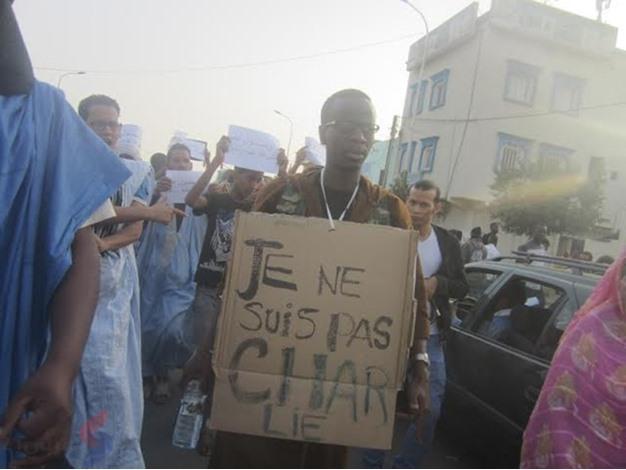 مسيرة في نوكشوط ضد شارلي ايبدو - unnamed (5)